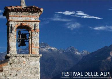 Festival delle Alpi 2020 copertina