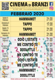 cinema febbraio